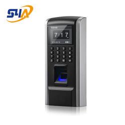 Пластиковый RFID считыватель отпечатков пальцев и PIN код доступа к контроллеру