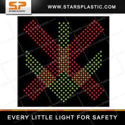 X und unten Variablen-Zeichen des Pfeil-LED