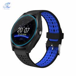 Vigilanza astuta di sport V9 con il Android Smartwatch di sport dell'orologio del MP3 del pedometro della scheda di TF SIM della macchina fotografica