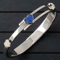 Нержавеющая сталь 316L цветные украшения браслет Bangle моды