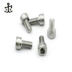 Ss sujeciones de acero inoxidable DIN34802 M6 6 lóbulos los tornillos con la función de conducción grande fabricado en China