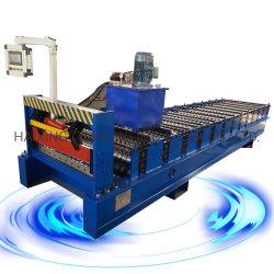 롤링 을 위한 골판 루프 시트 롤 패널 성형 기계 컬러 스틸