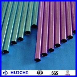 Farbe anodisiertes hohes Ertrag-Stärken-Aluminiumlegierung-Rohr auf Lager
