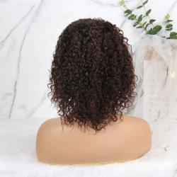 Lace Front Wig 13*4 organisme brésilien vague perruque brun moyen Lace Front Cheveux humains perruques 360 dentelle Perruques frontale pour les femmes