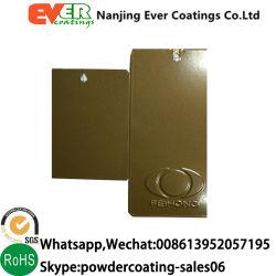Pearl RAL1036 Metallic Gold peinture enduit de poudre de pulvérisation électrostatique