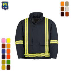 カラーオプションの反射作業安い働くジャケットを変える