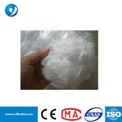 Court de PTFE de fibres discontinues Fils PTFE PTFE pour la fabrication de sacs de filtre de collecteur de poussière