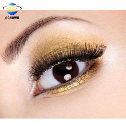 Ocrown Maya 10304 Pintura en polvo de pigmento Dorado de perlas para Eyeshadow