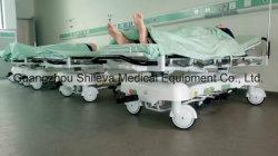Medizinischer Krankenwagen-Edelstahl-geduldige Übergangsnotbahre