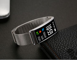 X3 de la Pletina de acero Pulsera Reloj inteligente modo de prueba Multi-Motion la frecuencia cardiaca de la presión arterial Oxímetro Color Android Ios