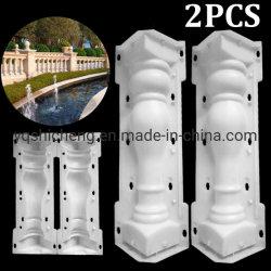 Римскими колоннами цемента поручни гипса конкретные формы