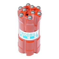 R32 Botão de carboneto de tungstênio Rosca Bits ferramentas de perfuração de rochas para derivar/Tunneling/Undergrounding