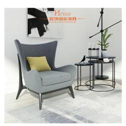 Asa Traseira Hotel Roupa Reclináveis Sofá, mesa com cadeira