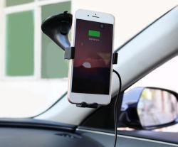 Золото поставщик быстрой подзарядки Qi мобильный телефон зарядное устройство беспроводной связи автомобильное зарядное устройство для iPhone X/iPhone 8