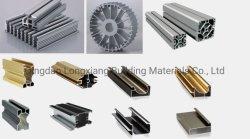 الصين 6061/6063 ألومنيوم/ألومنيوم بثق قطاع جانبيّ سعر/تسعير