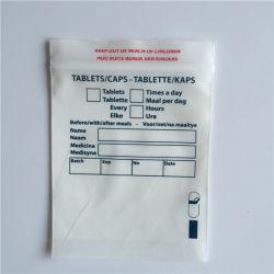 L'usine PE Distribution Médical d'enveloppes avec fermeture à glissière