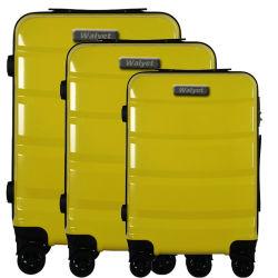 2020 Vendita a caldo Set 3 pezzi policarbonato (PC) +ABS Carrello Valigia per bagagli da viaggio