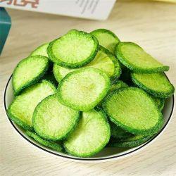 Ravanello verde di Fruit&Vegetable fritto vuoto sano Vf dell'alimento