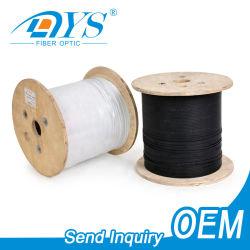 Piscine intérieure/extérieure 1 2 4 Core G657A1/A2 GJYXFCH FRP/fil d'acier mode Single Drop FTTH/optique plat câble à fibre optique