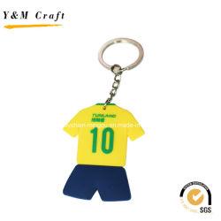 رياضية مخصصة جيرسي PVC سلاسل المفاتيح Ym1111