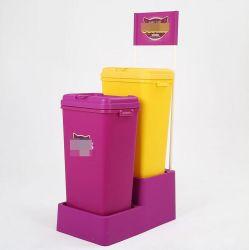 Custom Пэт продовольственной/риса/Книга/Clother контейнер для хранения в салоне, пластиковый контейнер для хранения