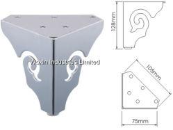 Muebles de acero inoxidable pulido de sofá de la pierna (432)