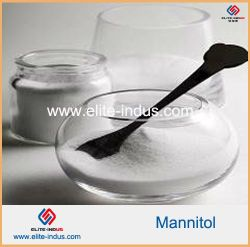 Additif alimentaire édulcorant mannitol poudre