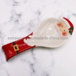 La Chine en céramique d'alimentation en usine personnalisée Décorations de Noël cuillère pour accueil