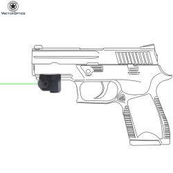Vista tattica compatta del laser di verde di Skyray di ottica di vettore per la pistola della pistola della rivoltella con lo stroboscopio della torcia elettrica dell'indicatore luminoso dell'arma combinato