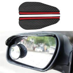 Espelho Retrovisor do lado do carro guarda-chuva de textura de fibra de carbono do Espelho Automático Chuva Sobrancelha Espelho Automático guarda fumaça pala-de-chuva Acessórios automóveis13046 ESG
