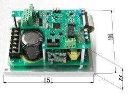 Yx3300 220V 0.4KW 0.2KW 0,75 kw. Installation de carte unique 1,5KW Convertisseur de fréquence