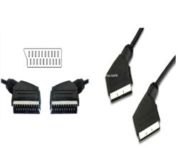21pin Scart Connector From中国Manufacture Factory (JHS03)