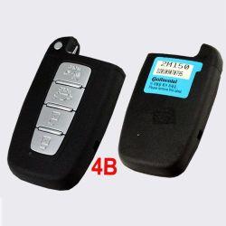 Chave para a Hyundai Smart Remote 4 (433MHz