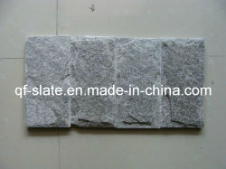 Fabricante/Quartzo Cinzento cogumelo ladrilhos de pedra quartzito para chapeamento
