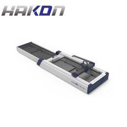 machine de découpage au laser à filtre métallique en acier inoxydable en aluminium avec double table de travail