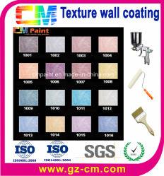 Revestimento de parede textura- Face Pintura Cracking-Resistant contra pó