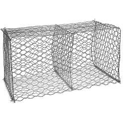熱い販売の安いGabionボックスまたはワイヤー網の六角形の編まれた鋼線の網によって使用される沿岸保護