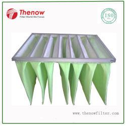 Filtro de Mangas de bolsillo de eficacia media para el sistema HVAC