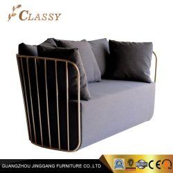 El vestíbulo del Hotel Casa muebles sofás de terciopelo con bastidor de acero de metal