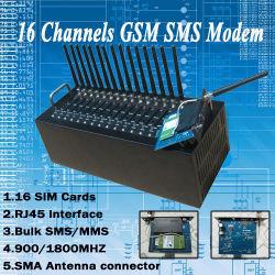 Wavecom 16 운반 GSM 전산 통신기 또는 대량 SMS 전산 통신기 USB/RS232 공용영역