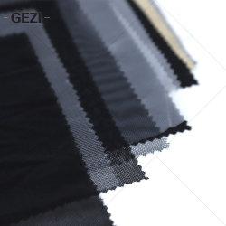 Gezi ha lavorato a maglia il tessuto di maglia di nylon dello Spandex del poliestere per le tessile dei sacchetti della lavanderia del rivestimento del pattino della tenda dei vestiti/le basi di agricoltura coperchio dell'albero/finestra di automobile domestiche