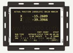 Fanuc CNC A61L-0001-0094 산업 모니터 RGB Ega Cga Mda 모니터