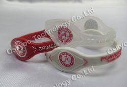 Braccialetti del Wristband di sport del silicone dell'equilibrio dello ione di potere (P5500)