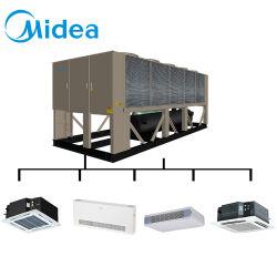 Midea Chiller Industrial cheio de líquido de refrigeração do Chiller de parafuso arrefecidos a ar