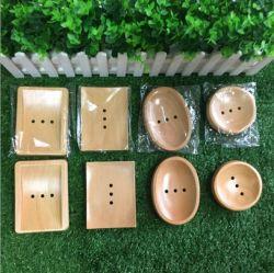 판매 Batheroom 최신 제품 자연적인 대나무 비누 받침 저장 홀더