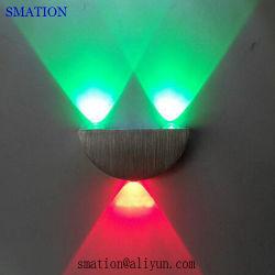 An der Wand befestigtes LED-Schlafzimmer-Metallrunde ungew?hnliche Innenwand-Lichter