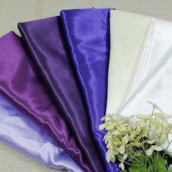 100% Polyester Einfarbiger Satin für Universal Chair Cover