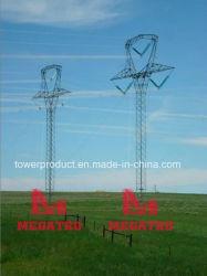 500kv sc Tangent V Configuration Lattice Guyed Steel Tower(MGP-GV500)