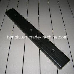 Plastic Dock-spatborden met rechte bumper