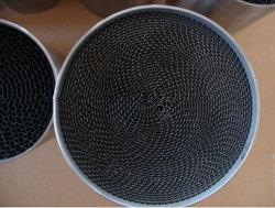 مادة حفاز من ركيزة هوني كومب المعدنية المستخدمة في محول السيارة الحفاز